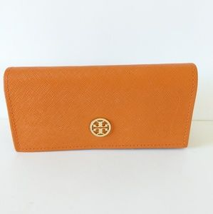 TORY BURCH Sunglasses Case Orange Color